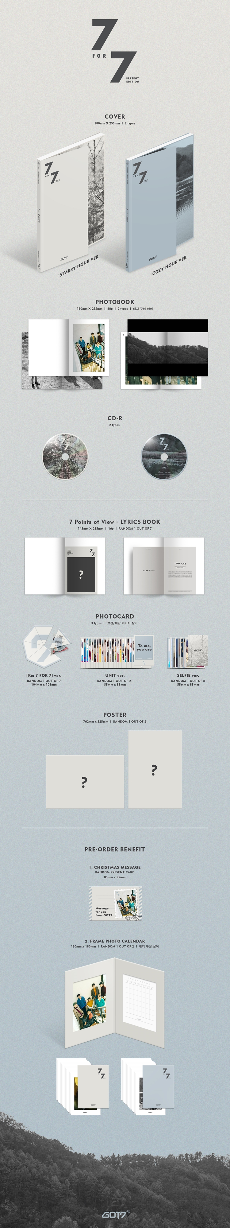 Image result for got7 7 for 7 present edition